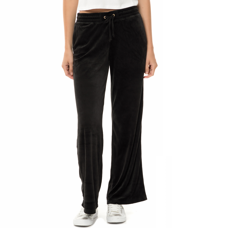 JUICY COUTURE - Γυναικείο παντελόνι φόρμας JUICY COUTURE TRK LW VELOUR MALIBU μα γυναικεία ρούχα παντελόνια φόρμες