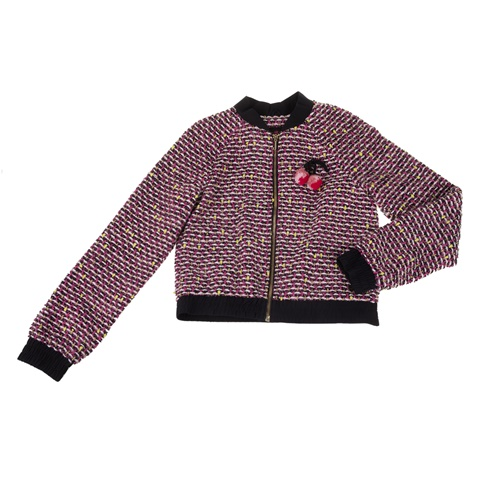 0c59d7290f4 Παιδικό σακάκι JUICY COUTURE POM POM TWEED ροζ - JUICY COUTURE KIDS  (1543261.0-13p3) | Factory Outlet