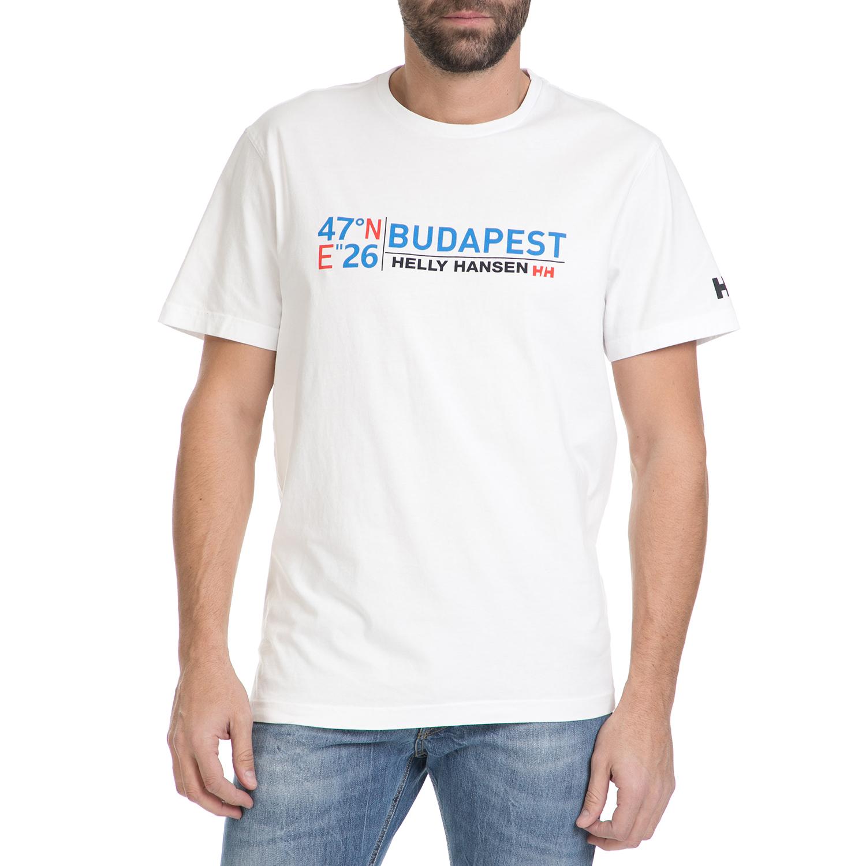 HELLY HANSEN - 28244 CITY TEE ΜΠΛΟΥΖΑΚΙ ΚΟΝΤΟΜΑΝΙΚΟ ανδρικά ρούχα αθλητικά t shirt