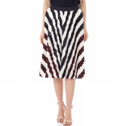 085d550407 Γυναικεία φούστα TED BAKER ROWING STRIPE PLEATED MIDI μαύρη-λευκή  (1544800.0-0013)