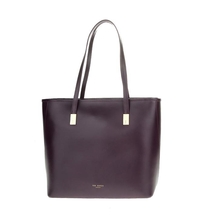 2b7959fbe8 Γυναικεία τσάντα ώμου CHELSEY TED BAKER μοβ σκούρο (1544845.0-00d1 ...