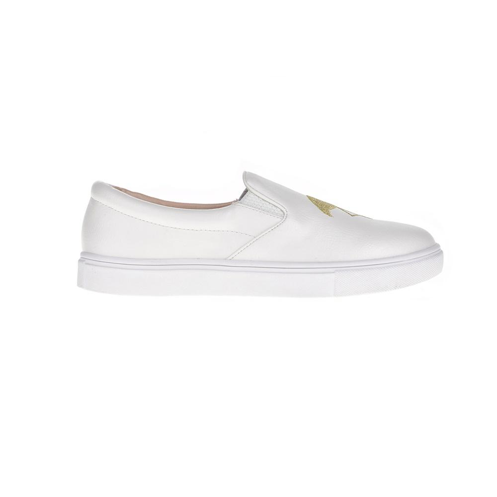 596b9979d3e JUICY COUTURE – Γυναικεία slip-on παπούτσια JUICY COUTURE ELEAVE λευκά