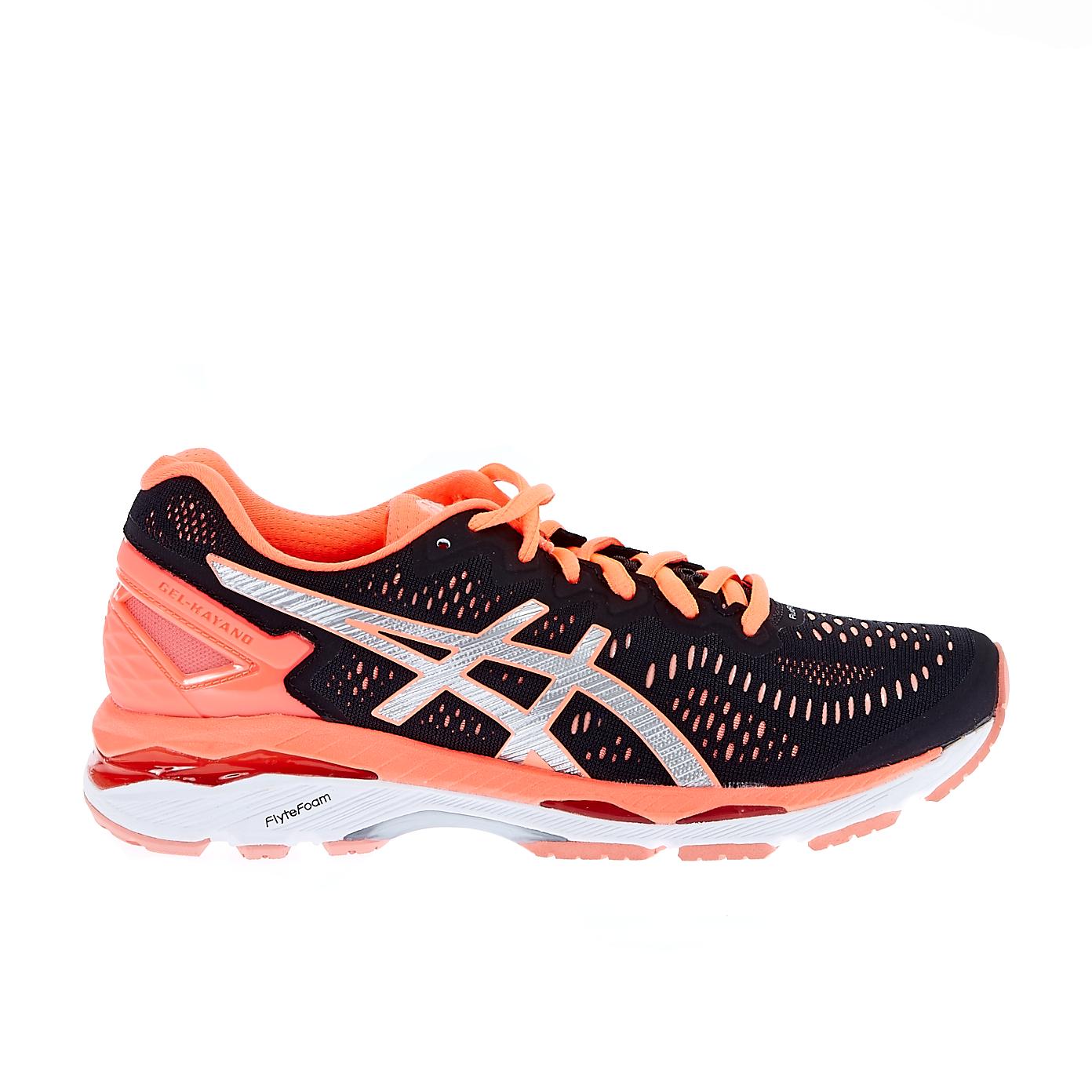 ASICS - Γυναικεία παπούτσια Asics GEL-KAYANO 23 μαύρο-κοραλί γυναικεία παπούτσια αθλητικά running
