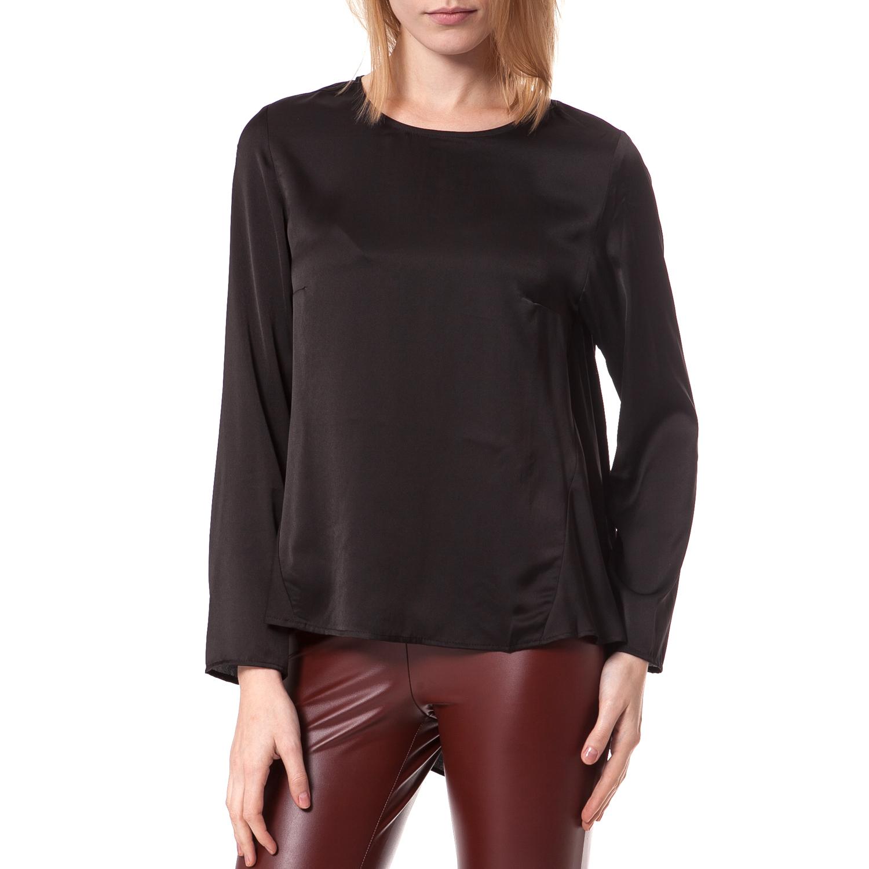 6945ca690012 TEA   ROSE – Γυναικεία μπλούζα Tea   Rose μαύρη. Factory Outlet