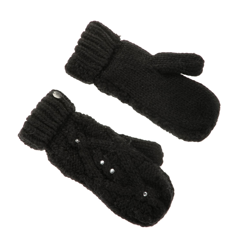 ROXY - Γυναικεία γάντια ενιαία ROXY SHOOTING STAR MITTENS μαύρα με στρας γυναικεία αξεσουάρ φουλάρια κασκόλ γάντια