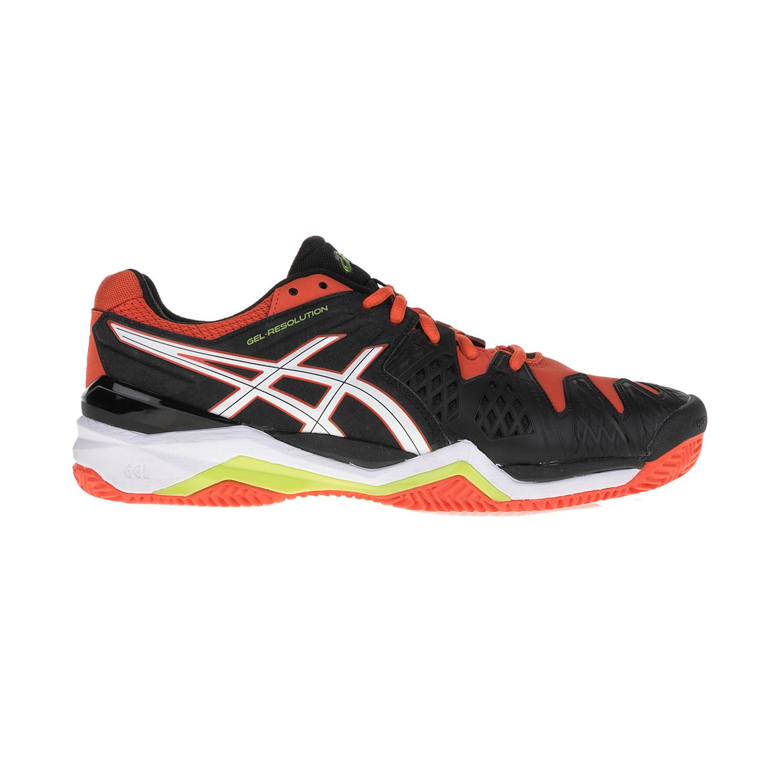 ASICS (FO) – Ανδρικά παπούτσια για τένις Asics GEL-RESOLUTION 6 CLAY μαύρα – κόκκινα