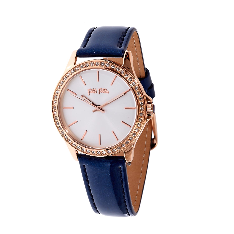 e6b82e1361 FOLLI FOLLIE - Γυναικείο ρολόι Folli Follie μπλε