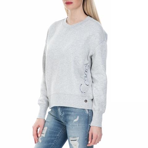 afd23d0894e8 Γυναικεία φούτερ μπλούζα Calvin Klein Jeans γκρι (1546692.0-0084 ...