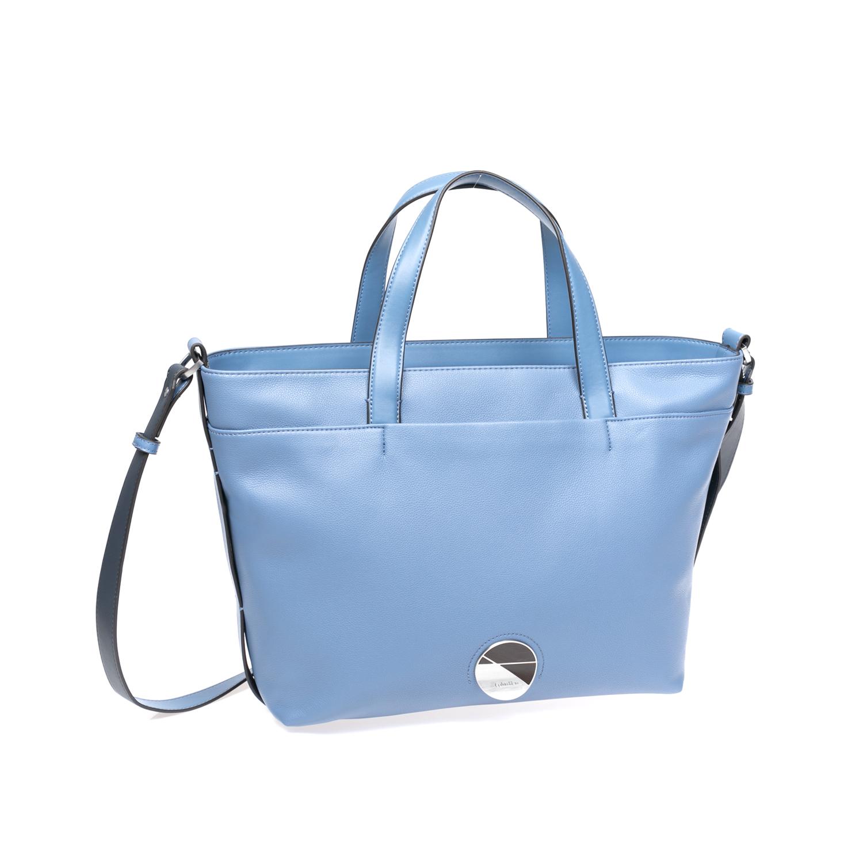 CALVIN KLEIN JEANS - Γυναικεία τσάντα Calvin Klein Jeans μπλε γυναικεία αξεσουάρ τσάντες σακίδια χειρός