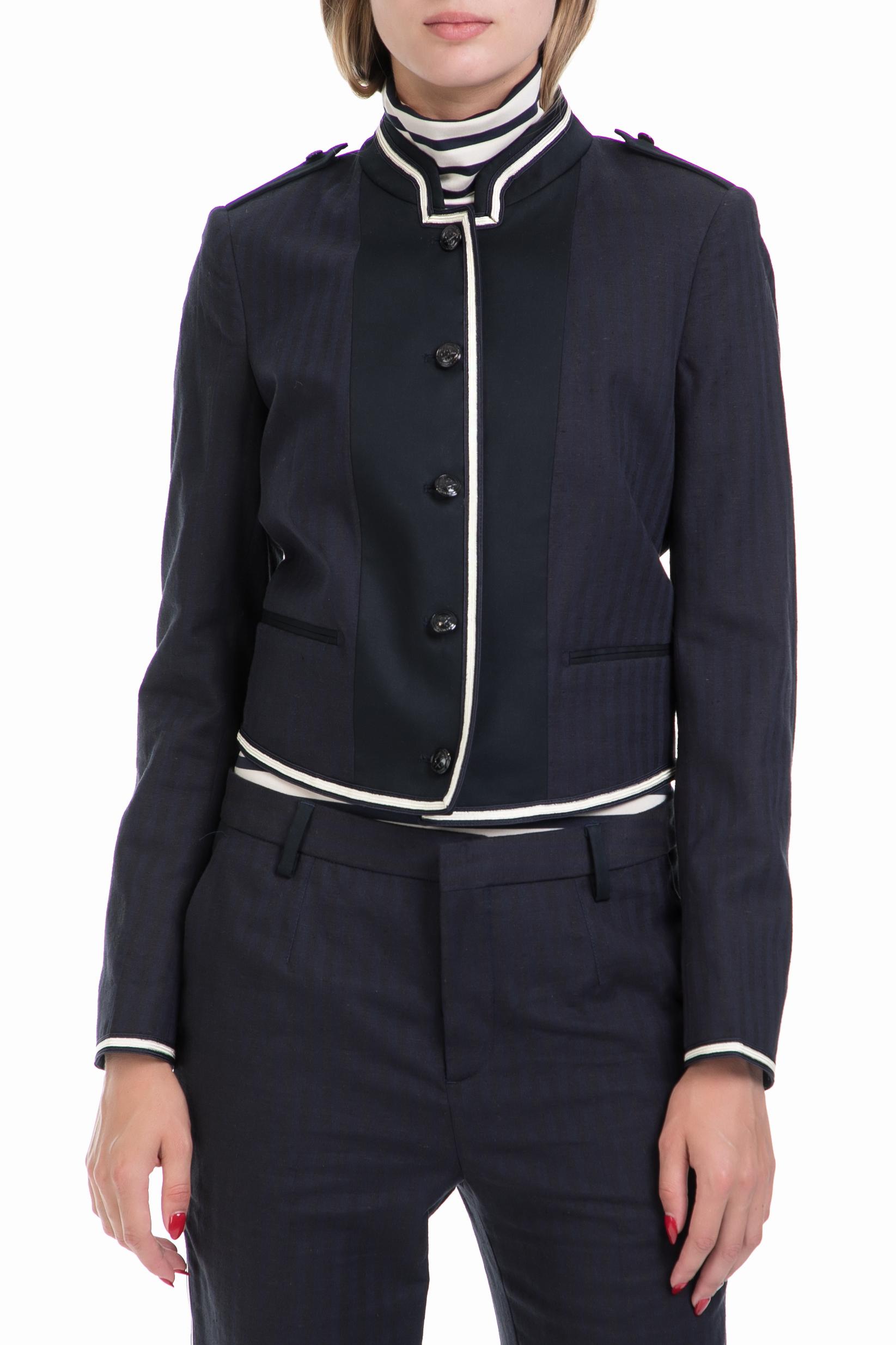 SCOTCH & SODA - Γυυναικείο σακάκι Bell boy inspired blazer μπλε γυναικεία ρούχα πανωφόρια σακάκια