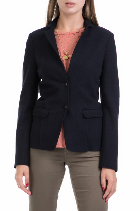 Γυναικείο σακάκι Blazer in special wool quality μπλε - SCOTCH   SODA ... af347c51cbd
