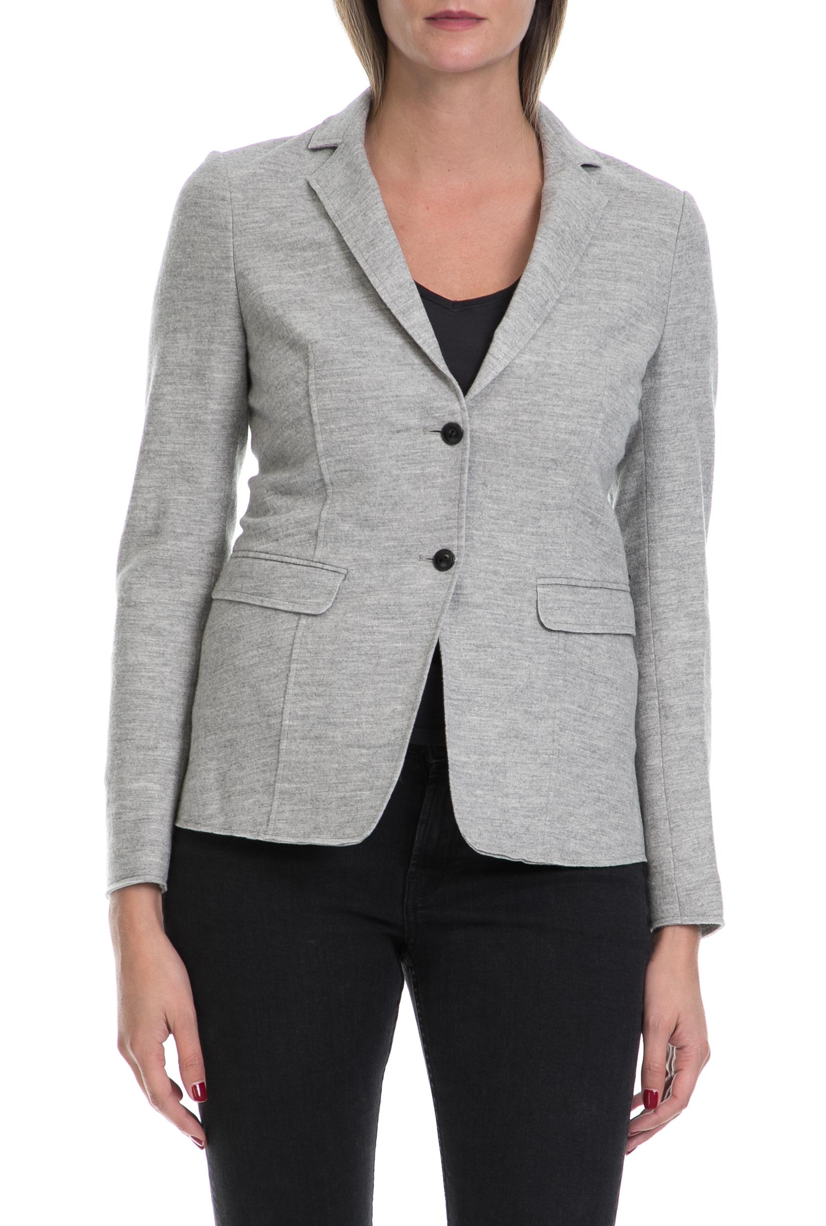 SCOTCH & SODA - Γυναικείο σακάκι MAISON SCOTCH γκρι γυναικεία ρούχα πανωφόρια σακάκια