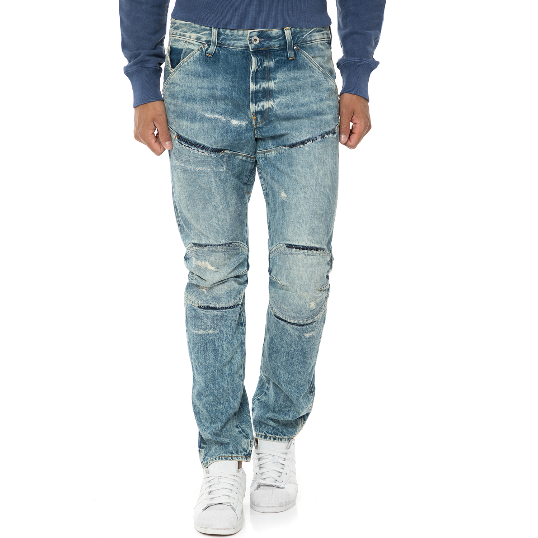 G-STAR RAW - Ανδρικό τζιν παντελόνι 3D Tapered γαλάζιο ανδρικά ρούχα τζίν straight