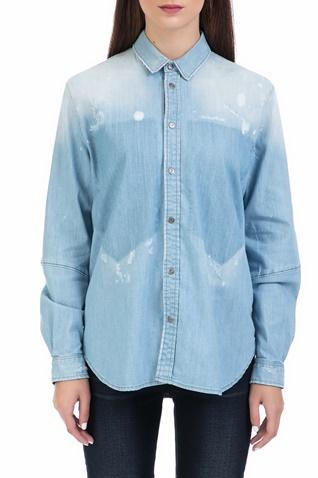 95d1290eeaba Γυναικείο πουκάμισο Modern Arc 3D BF shirt μπλε - G-STAR RAW  (1547668.0-00s2)