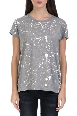 33365abd8168 Γυναικεία μπλούζα Luuto splatter straight γκρι - G-STAR RAW  (1547684.0-8b95)