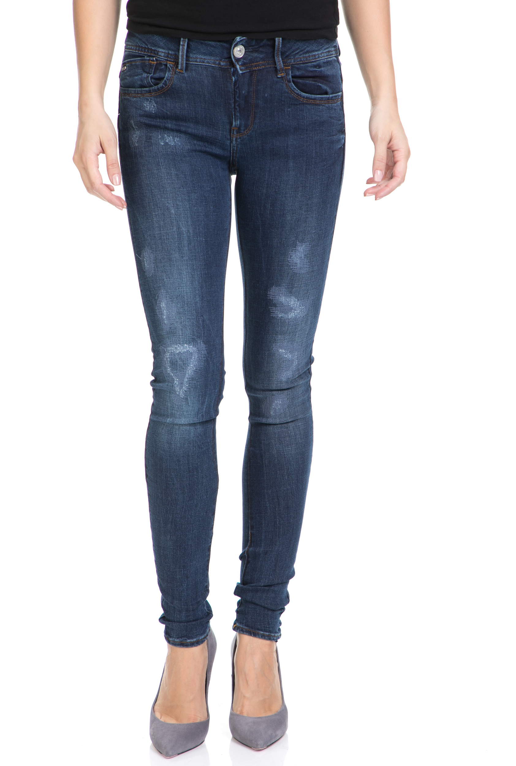 44c60cfe62 -56% G-STAR RAW – Γυναικείο τζιν παντελόνι LYNN D-MID SUPER SKINNY G-