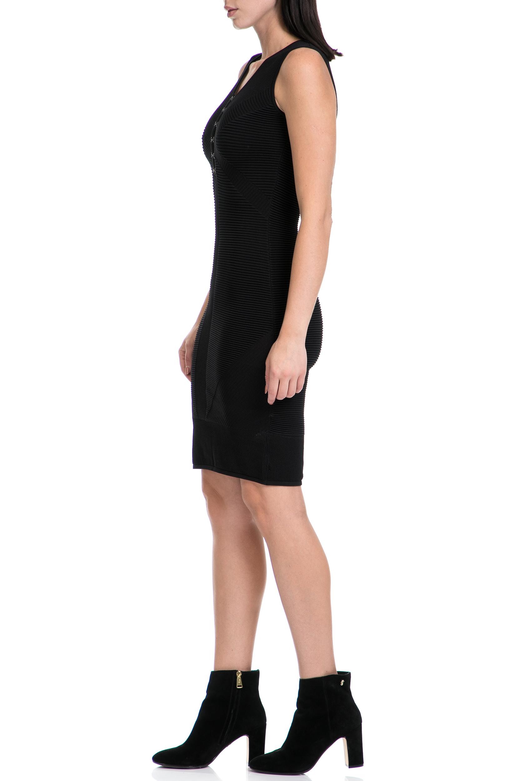 62b0a8c71b9 GUESS - Γυναικείο φόρεμα ANGELINA GUESS μαύρο, ΓΥΝΑΙΚΑ | ΡΟΥΧΑ | ΦΟΡΕΜΑΤΑ |  ΜΕΧΡΙ ΤΟ ΓΟΝΑΤΟ