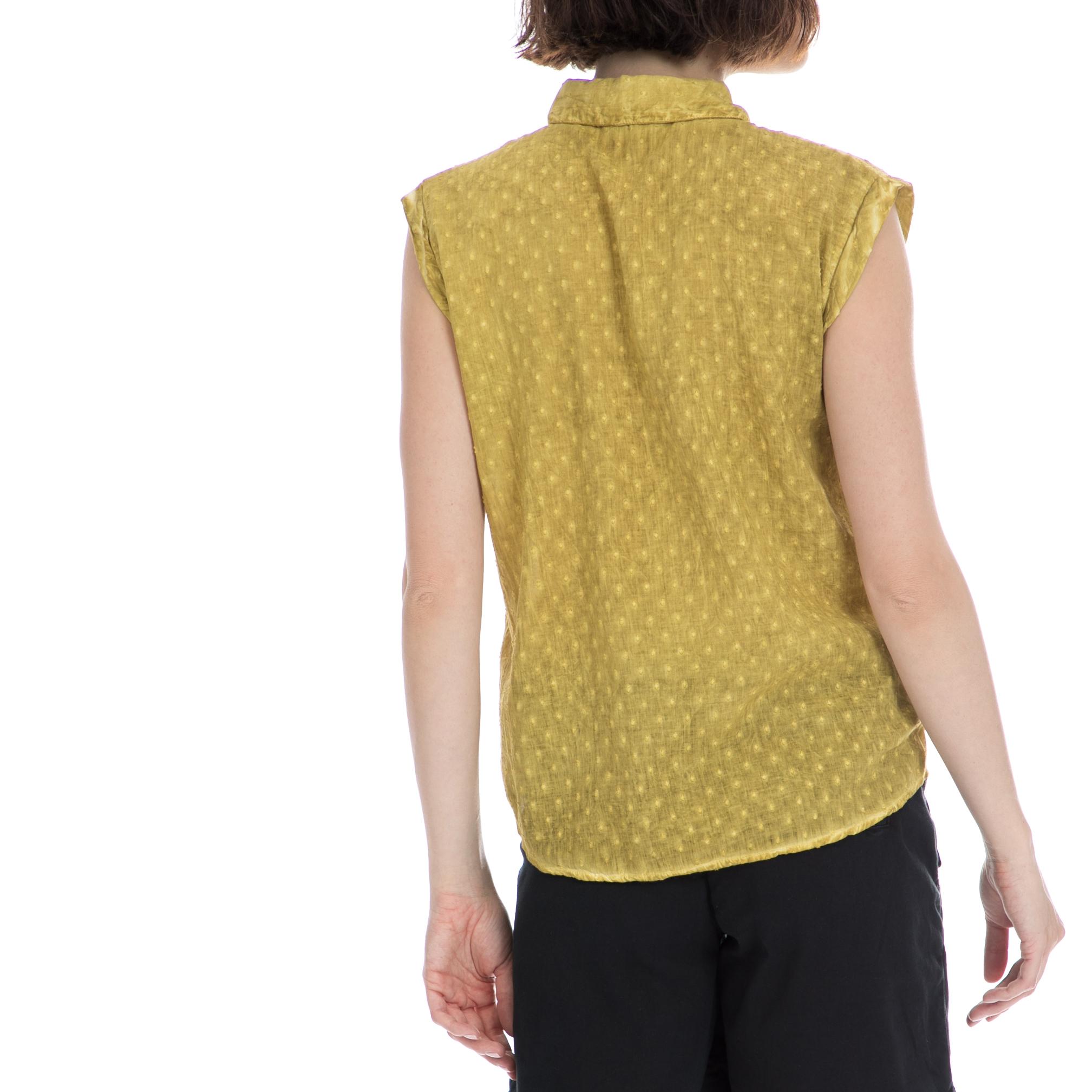 1920d11d24f9 GARCIA JEANS - Γυναικείο πουκάμισο Garcia Jeans κίτρινο