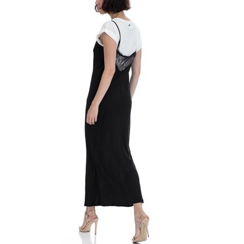GARCIA JEANS-Γυναικείο φόρεμα Garcia Jeans μαύρο