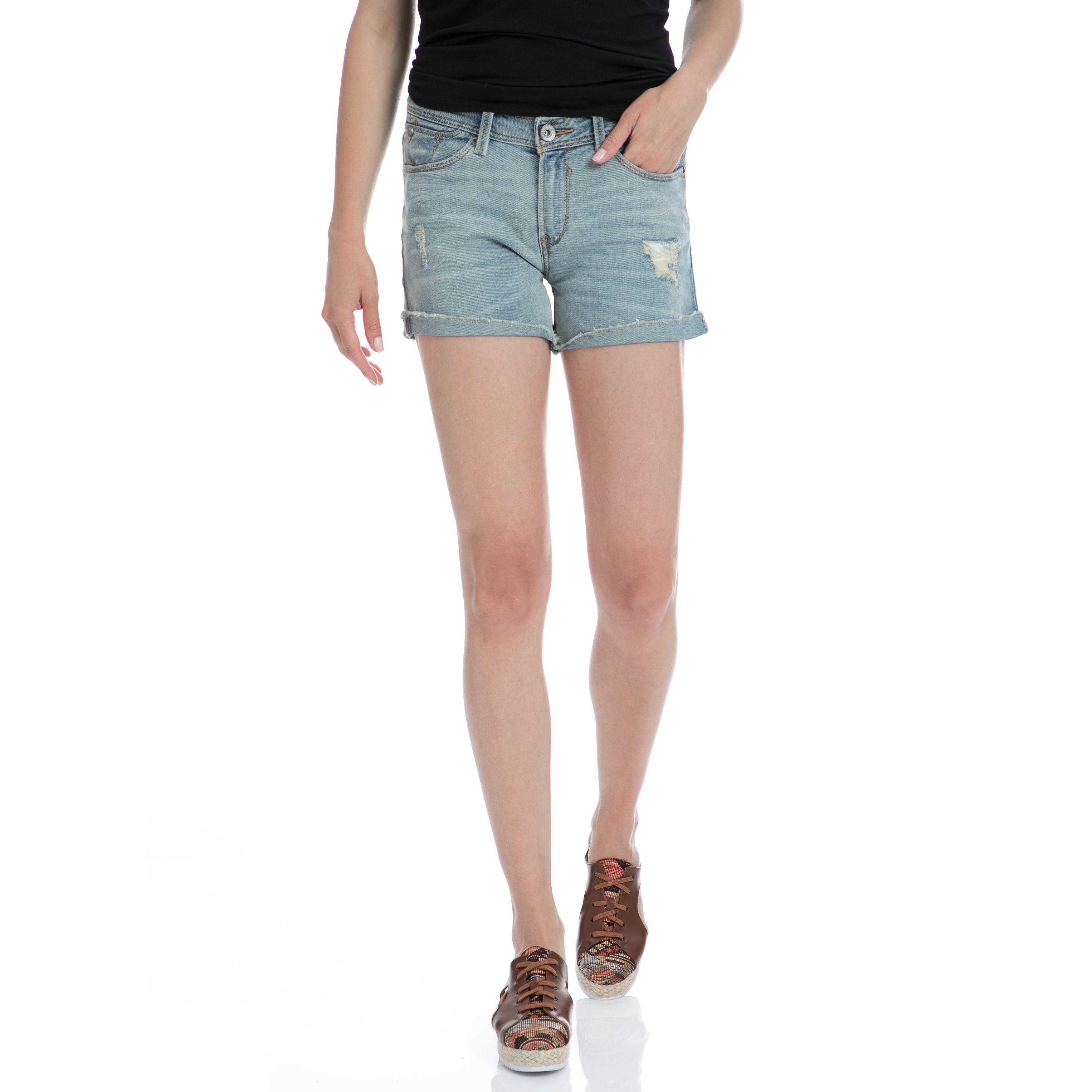 GARCIA JEANS - Γυναικείο τζιν σορτς Garcia Jeans μπλε γυναικεία ρούχα σορτς βερμούδες casual jean