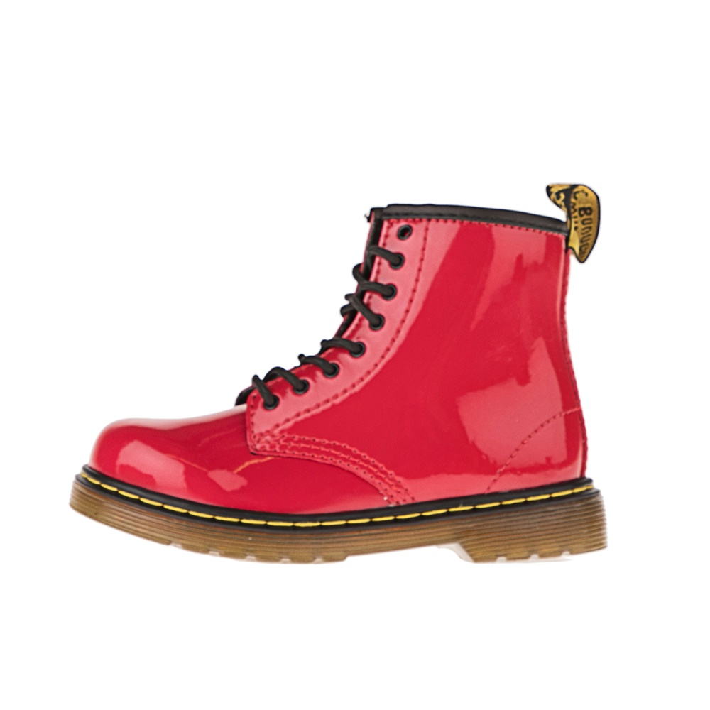 DR.MARTENS – Βρεφικά μποτάκια DR.MARTENS Brooklee Infants Lace Boot κόκκινα