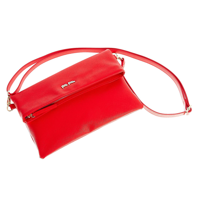 FOLLI FOLLIE - Γυναικεία τσάντα χιαστί Folli Follie κόκκινη γυναικεία αξεσουάρ τσάντες σακίδια χιαστή   cross body