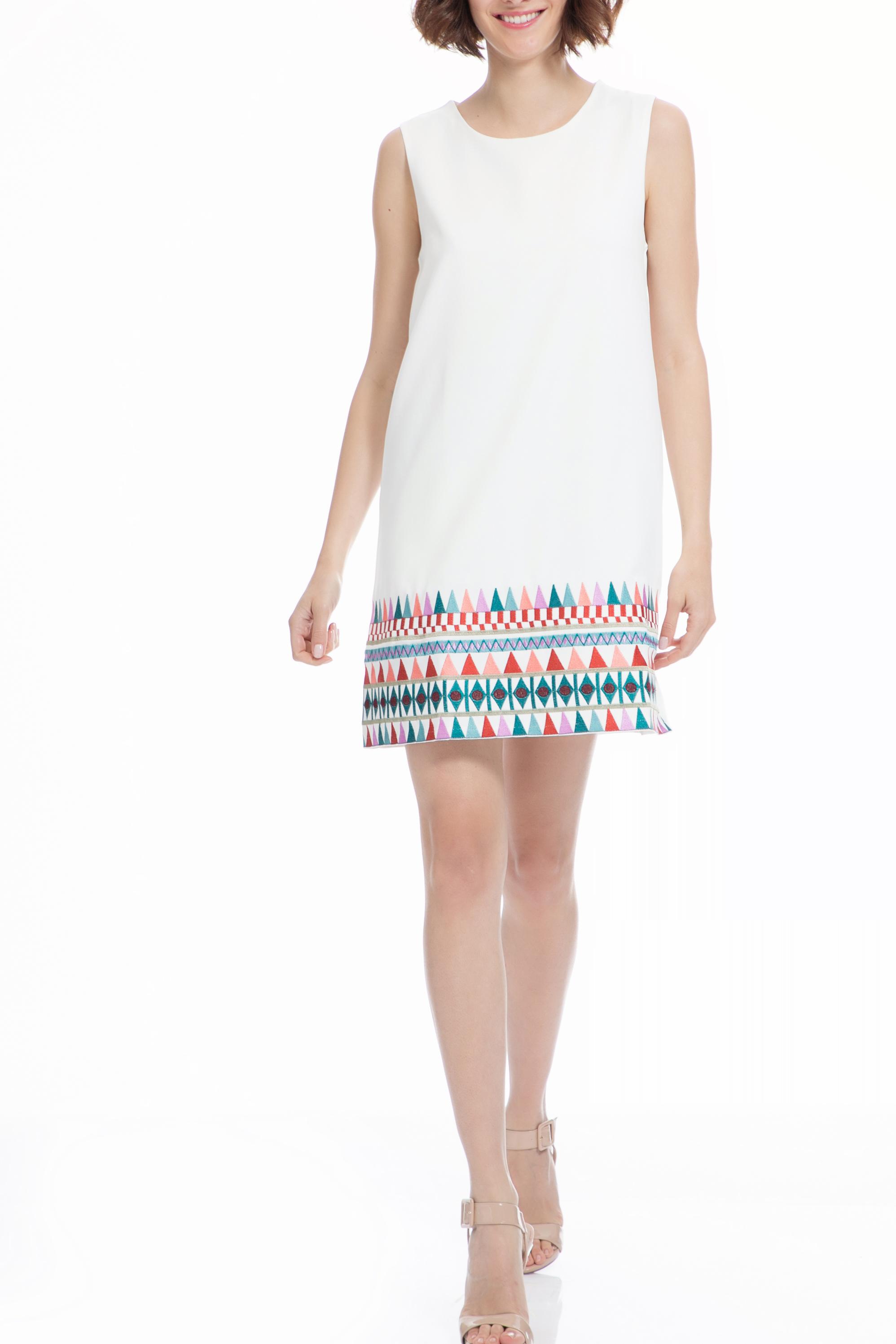 6d980b7ae48f MOLLY BRACKEN - Φόρεμα MOLLY BRACKEN λευκό