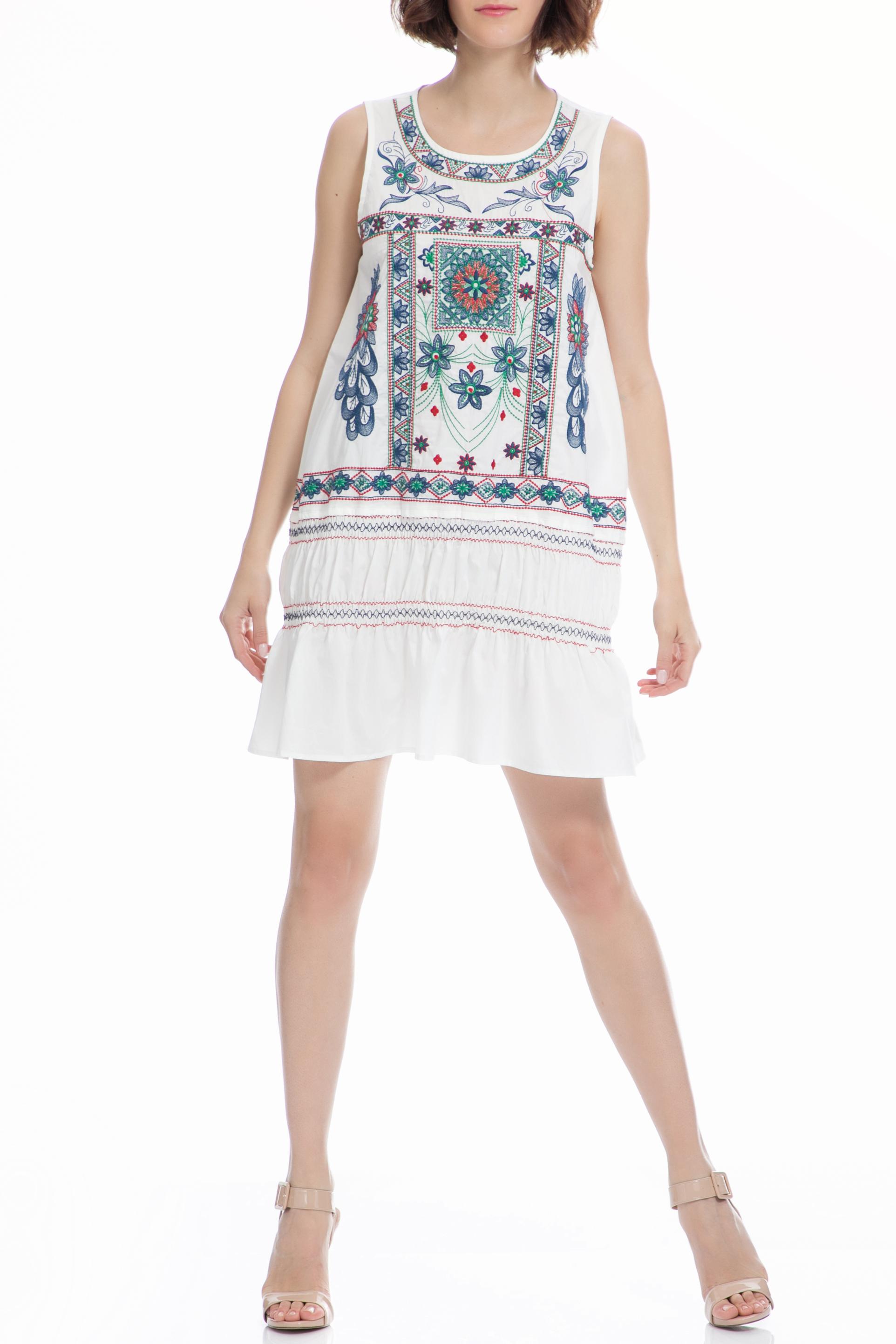 MOLLY BRACKEN - Φόρεμα MOLLY BRACKEN λευκό
