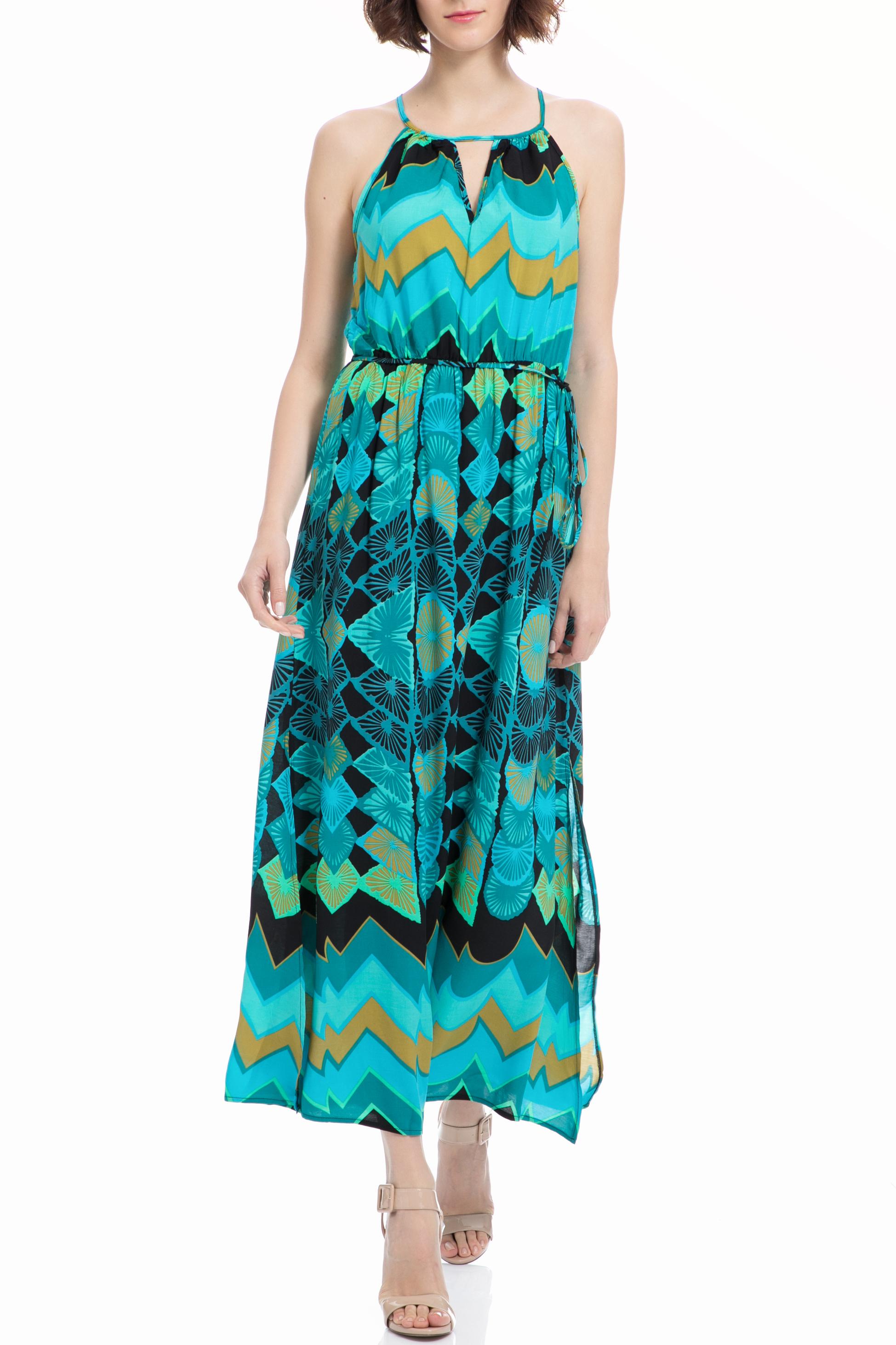 MOLLY BRACKEN - Μάξι φόρεμα MOLLY BRACKEN μπλε γυναικεία ρούχα φορέματα μάξι