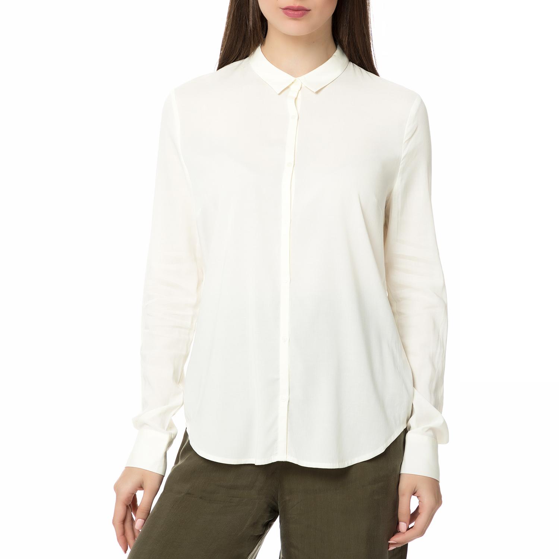 AMERICAN VINTAGE – Γυναικείο μακρυμάνικο πουκάμισο CODY115E17 AMERICAN  VINTAGE εκρού 79c89b14129