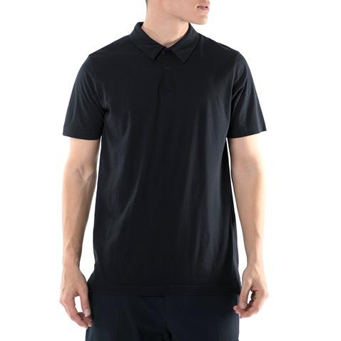 c9c39c91545d Ανδρική πόλο μπλούζα AMERICAN VINTAGE μαύρη (1552477.0-001e ...