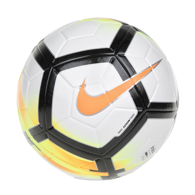 NIKE - Μπάλα ποδοσφαίρου NIKE ORDEM-V λευκή-πορτοκαλί ανδρικά αξεσουάρ αθλητικά είδη μπάλες
