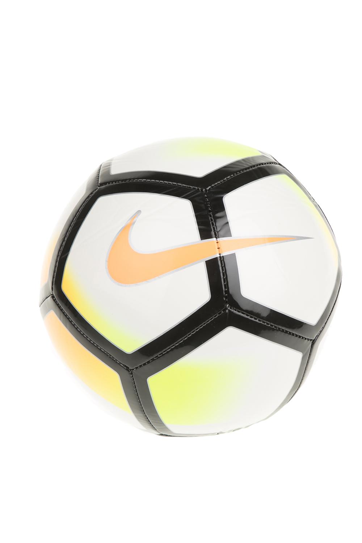NIKE - Μπάλα ποδοσφαίρου Nike Pitch λευκή-πορτοκαλί ανδρικά αξεσουάρ αθλητικά είδη μπάλες