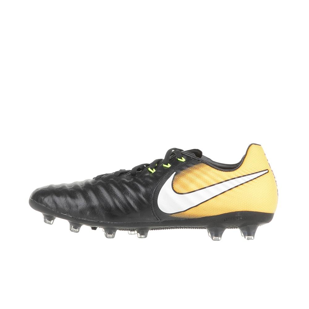 NIKE – Ανδρικά ποδοσφαιρικά παπούτσια NIKE TIEMPO LEGACY III AG-PRO μαύρα-κίτρινα