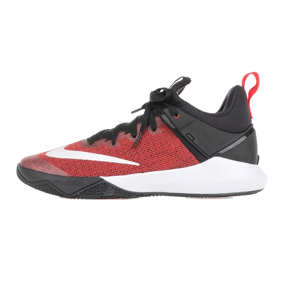 726610536b7 -41% Factory Outlet NIKE – Ανδρικά παπούτσια μπάσκετ NIKE ZOOM SHIFT  κόκκινα-μαύρα