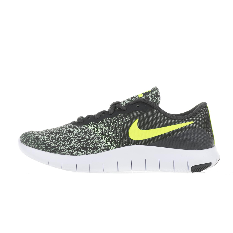 NIKE – Αγορίστικα αθλητικά παπούτσια NIKE FLEX CONTACT (GS) γκρι-κίτρινα bfdf24e891a