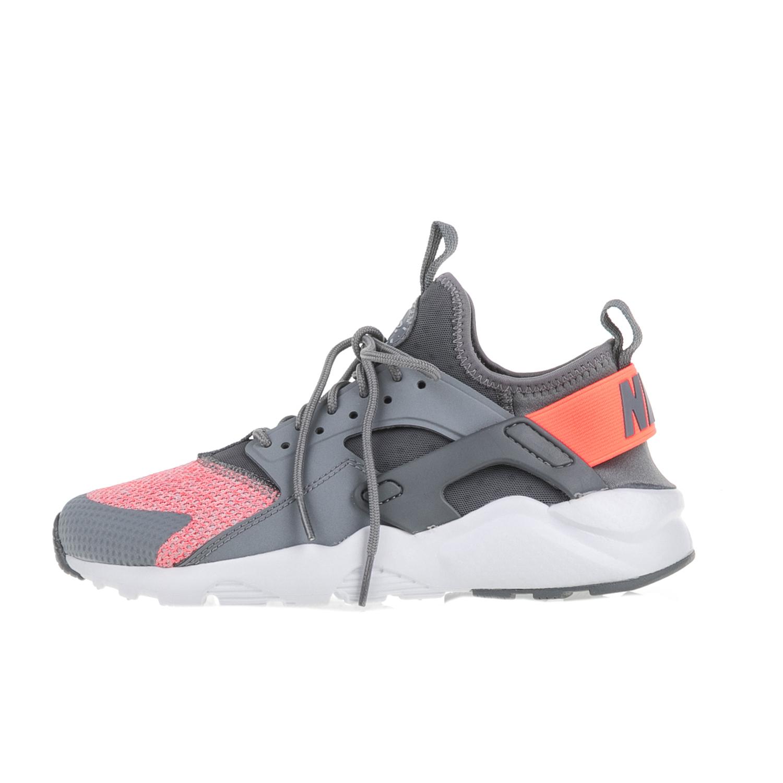 NIKE – Κοριτσίστικα αθλητικά παπούτσια NIΚΕ AIR HUARACHE RUN ULTRA SE (GS) γκρι-ροζ