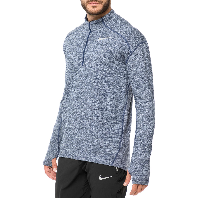 2696c0b5b8df NIKE - Ανδρική μπλούζα για τρέξιμο Nike Dry Element μπλε