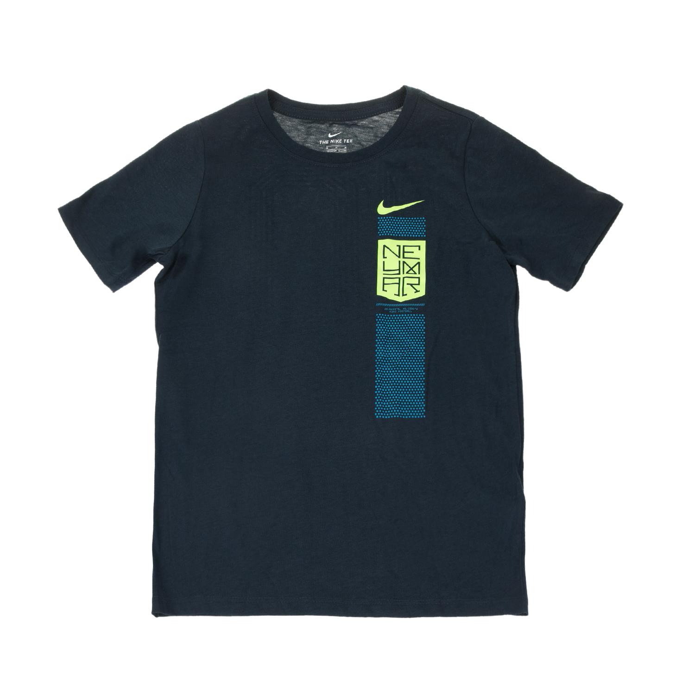 NIKE - Αγορίστικο t-shirt ποδοσφαίρου NEYMAR Nike TEE μπλε παιδικά boys ρούχα αθλητικά