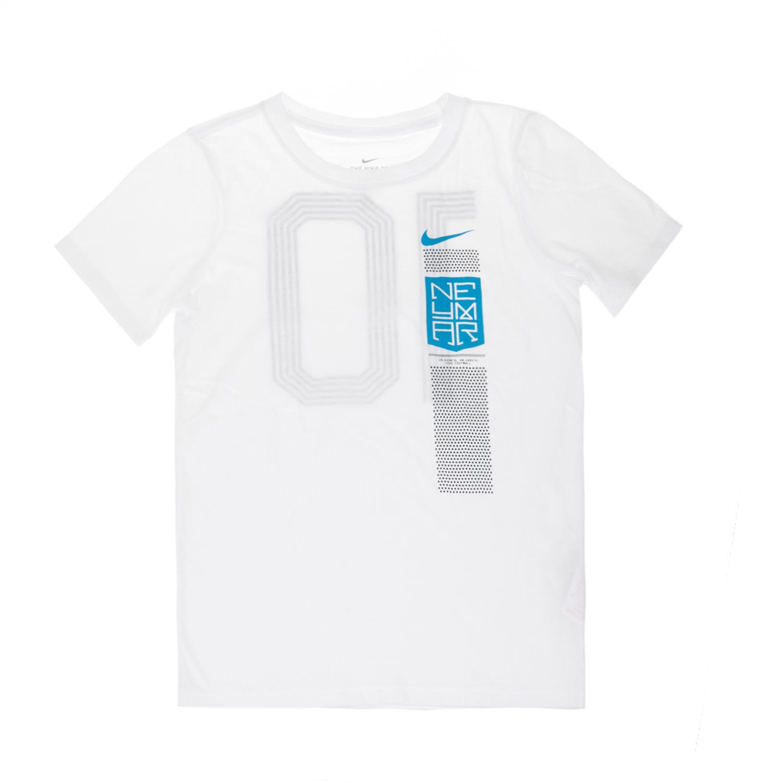 NIKE - Αγορίστικο t-shirt ποδοσφαίρου NEYMAR Nike TEE λευκό παιδικά boys ρούχα αθλητικά