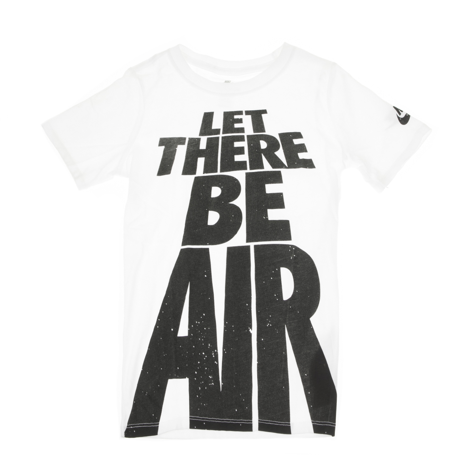 NIKE - Παιδικό αγορίστικο t-shirt NIKE LET THERE BE AIR λευκό παιδικά boys ρούχα μπλούζες