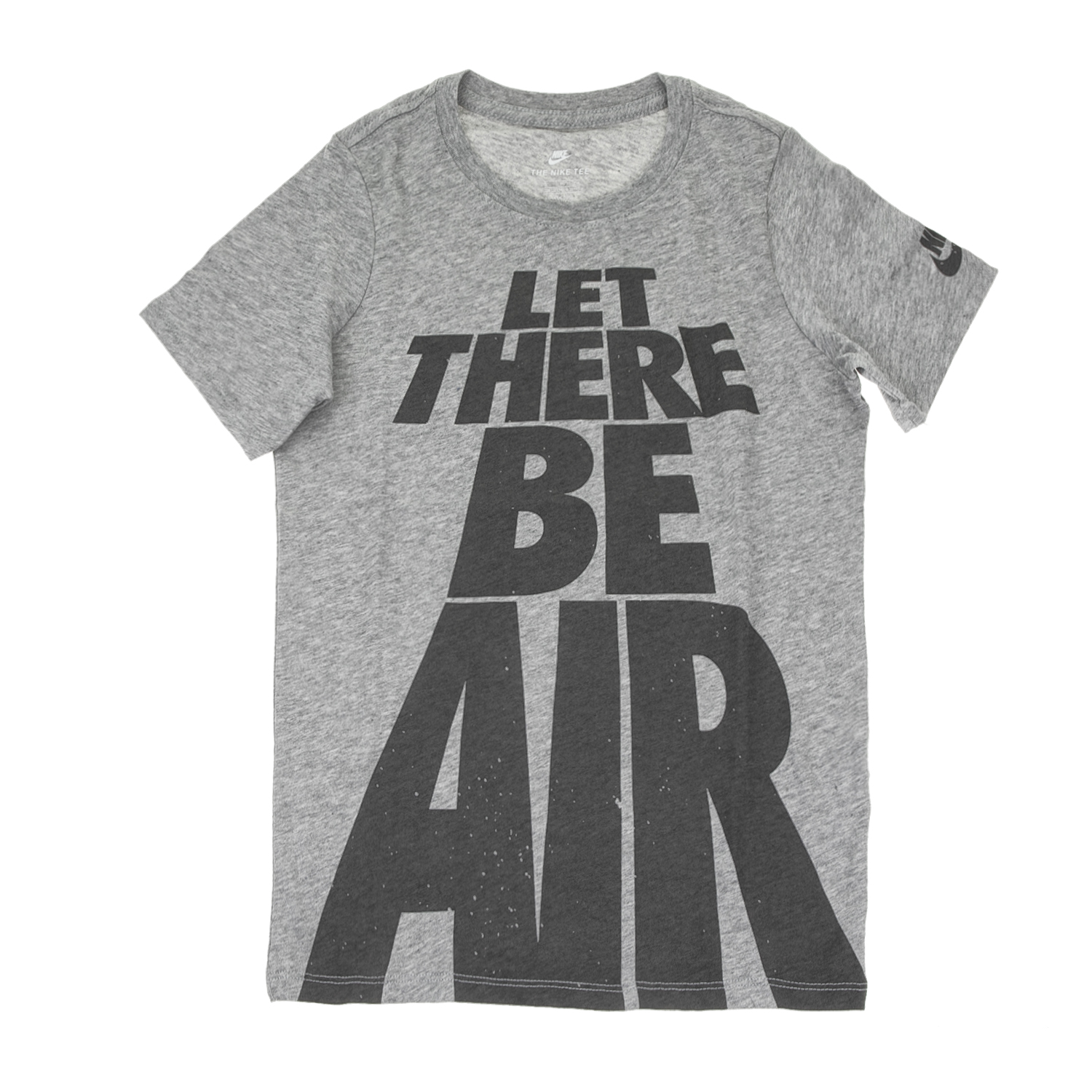 NIKE - Παιδικό αγορίστικο t-shirt NIKE LET THERE BE AIR γκρι παιδικά boys ρούχα μπλούζες