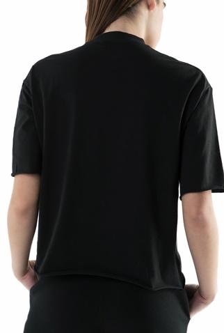 CONVERSE-Γυναικείο T-shirt Converse shine pack μαύρο