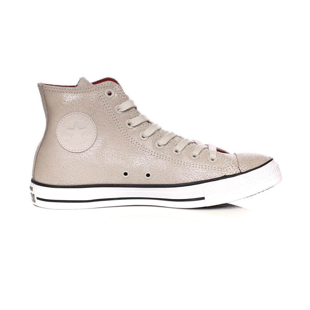 CONVERSE – Unisex παπούτσια CONVERSE Chuck Taylor All Star Hi μπεζ 2c5d9780174