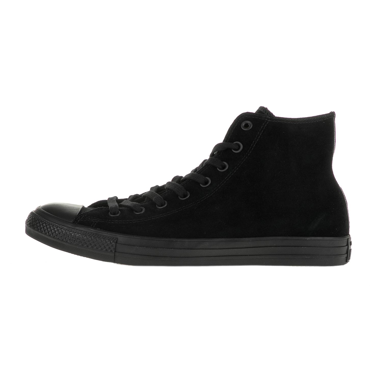 CONVERSE – Ανδρικά μποτάκια Converse Chuck Taylor All Star Plush Suede μαύρα