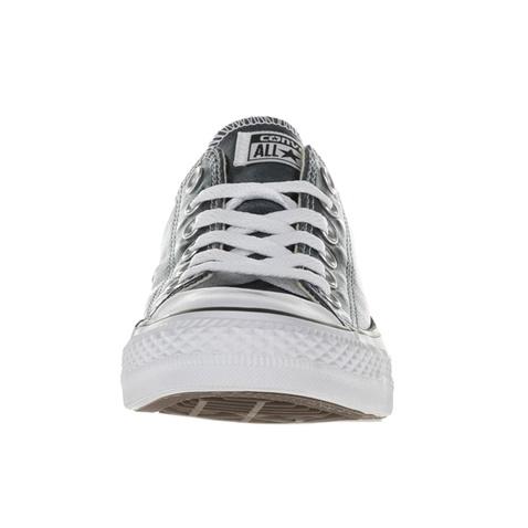 CONVERSE-Γυναικεία χαμηλά sneakers CONVERSE Chuck Taylor All Star Ox μπλε μεταλλικά
