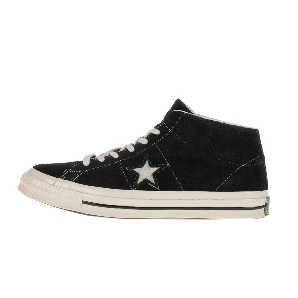CONVERSE – Ανδρικά ημιμποτάκια Converse One Star Mid μαύρα