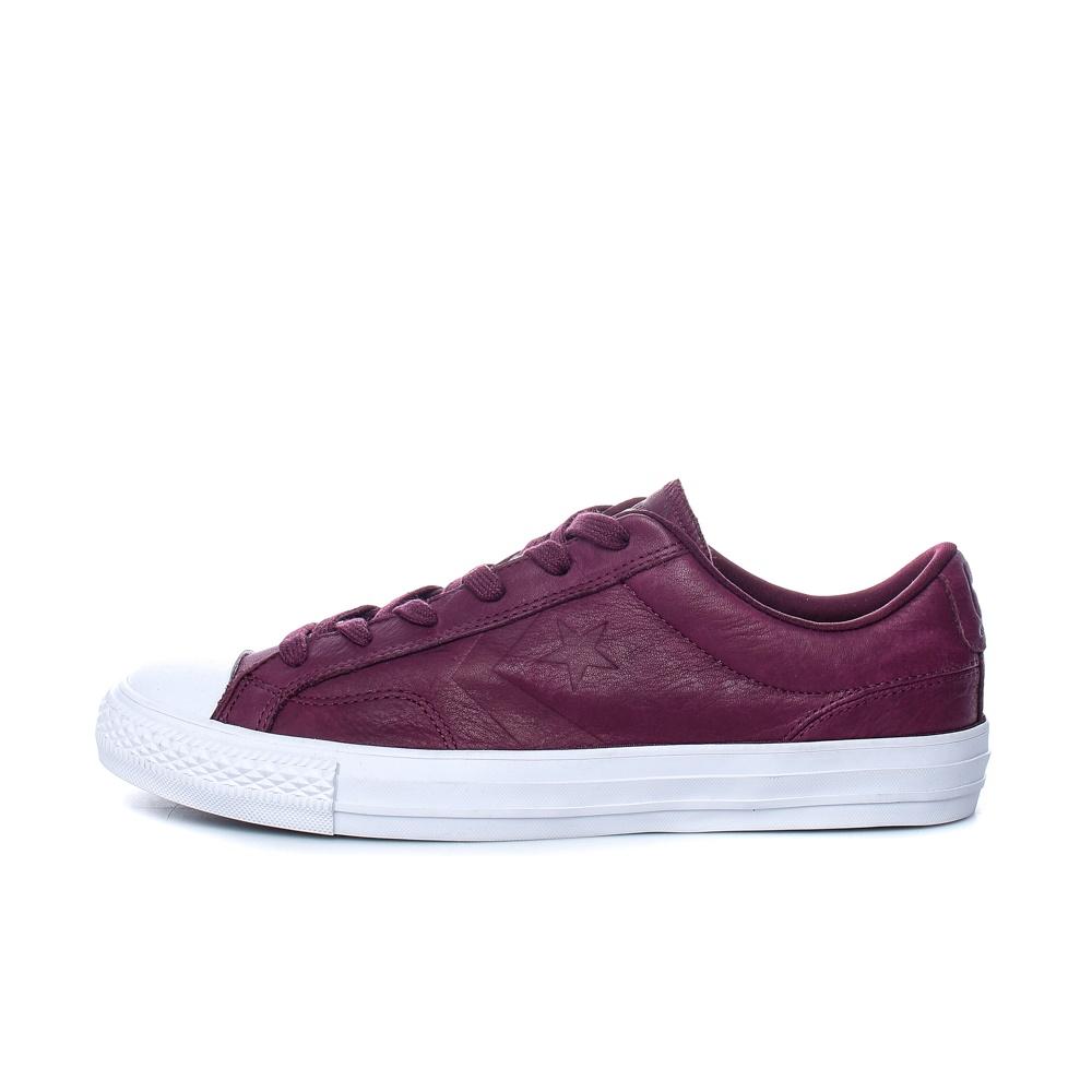 CONVERSE – Unisex παπούτσια Star Player Ox μπορντό-μοβ