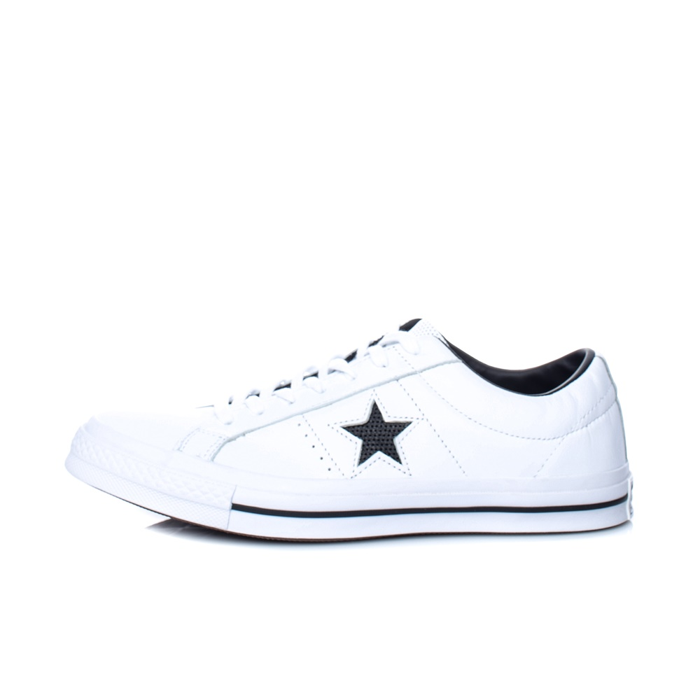 CONVERSE – Unisex sneakers CONVERSE One Star Ox λευκά