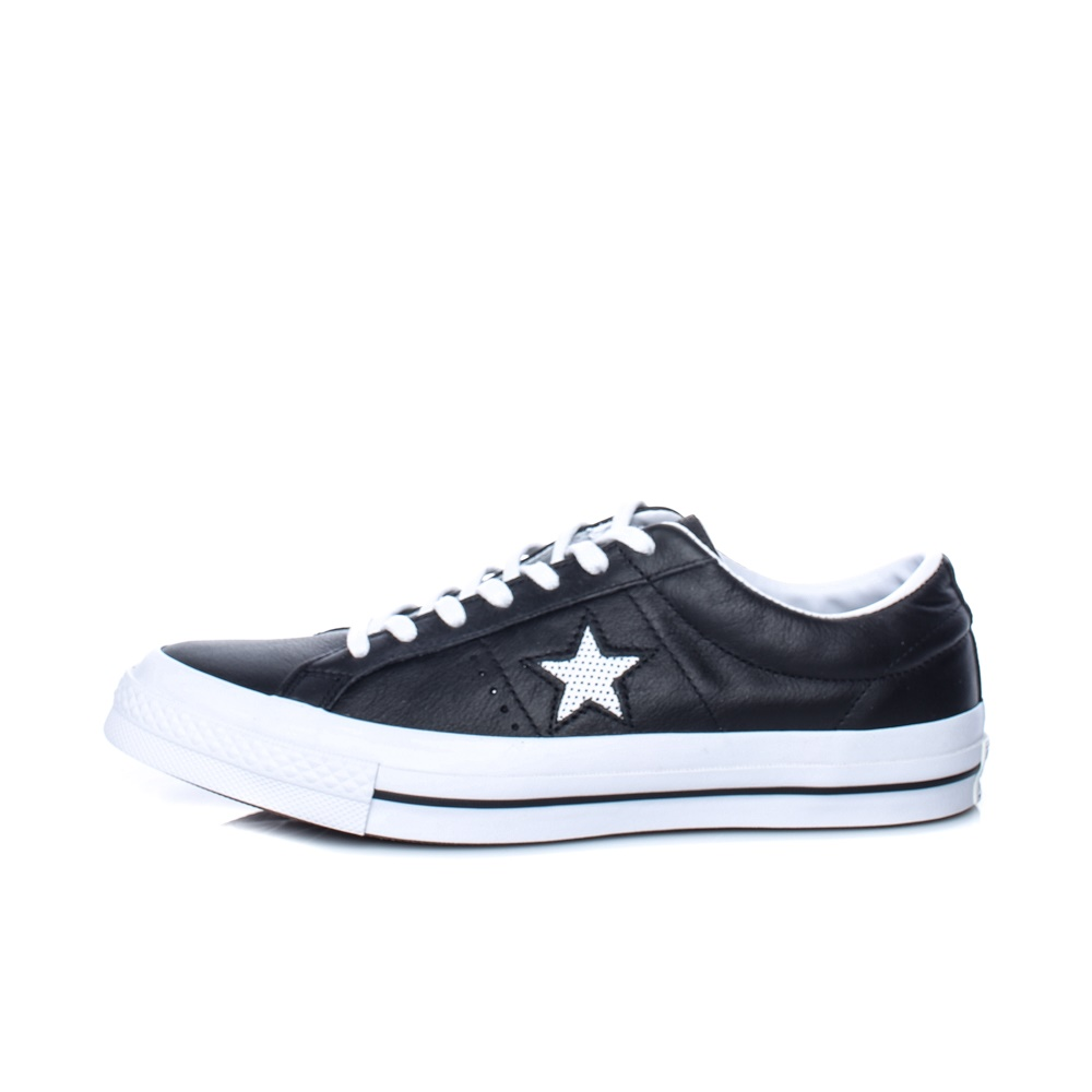 CONVERSE – Unisex παπούτσια One Star Ox ΥΠΟΔΗΜΑ μαύρα